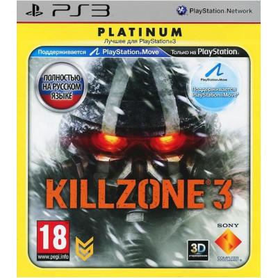 Killzone 3 (Platinum) (с поддержкой PS Move, 3D) [PS3, русская версия]