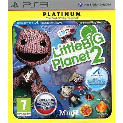 LittleBigPlanet 2 (Platinum) (с поддержкой PS Move) [PS3, русская версия]