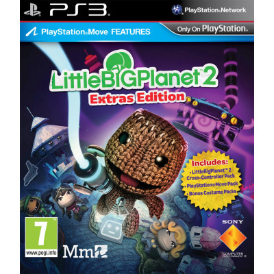 LittleBigPlanet 2. Расширенное издание (с поддержкой PS Move) [PS3, русская версия]