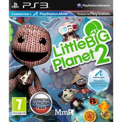 LittleBigPlanet 2 (с поддержкой PS Move) [PS3, русская версия]