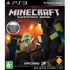 Minecraft Playstation 3 Edition [PS3, русская версия]