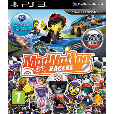 ModNation Racers [PS3, русская версия]