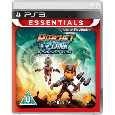 Ratchet and Clank: a Crack in Time (Essentials) [PS3, русская документация]
