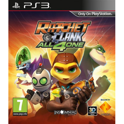 Ratchet & Clank: All 4 One [PS3, русская версия]