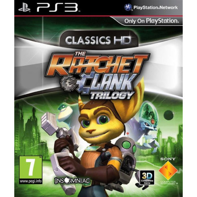 Ratchet & Clank HD Collection [PS3, русская документация]