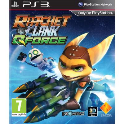 Ratchet & Clank Q-Force (с поддержкой 3D) [PS3, русская версия]