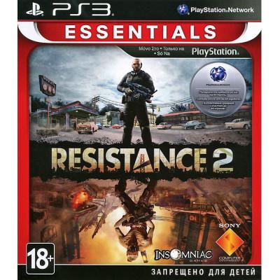 Resistance 2 (Essentials) [PS3, русская документация]