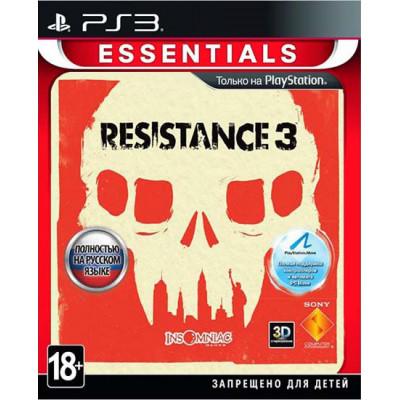 Resistance 3 (Essentials) (с поддержкой PS Move) [PS3, русская версия]