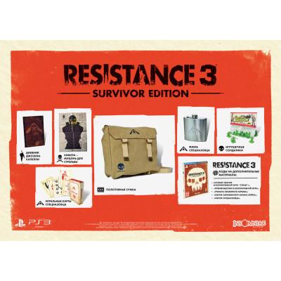 Resistance 3. Комплект выжившего [PS3, русская версия]