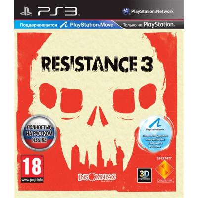 Resistance 3 (с поддержкой PS Move) [PS3, русская версия]