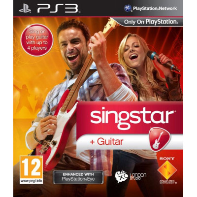 SingStar Guitar [PS3, английская версия]
