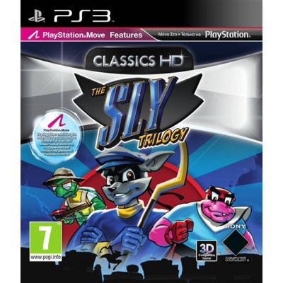 Sly Trilogy (с поддержкой PS Move, 3D) [PS3, русская документация]