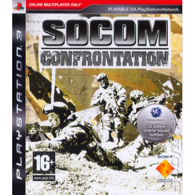 SOCOM: Confrontation [PS3, русская версия]