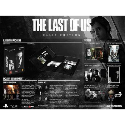 The Last Of Us. Ellie Edition [PS3, европейская версия]