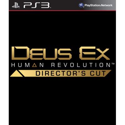 Deus Ex: Human Revolution. Director's Cut [PS3, английская версия]