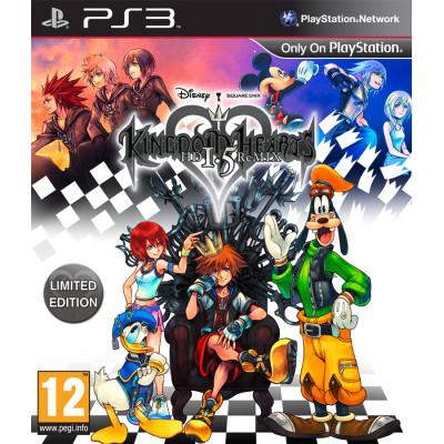 Kingdom Hearts HD 1.5 Remix [PS3, английская версия]