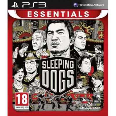 Sleeping Dogs (Essentials) [PS3, русская версия]