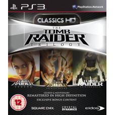 Tomb Raider Trilogy - Classics HD [PS3, английская версия]
