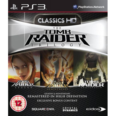 Tomb Raider Trilogy - Classics HD [PS3, английская версия]
