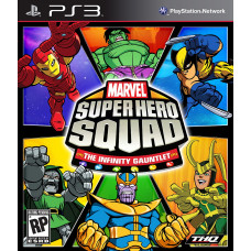 Marvel Super Hero Squad: the Infinity Gauntlet [PS3, английская версия]