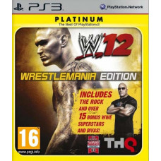 WWE '12. Wrestlemania Edition (Platinum) [PS3, русская документация]