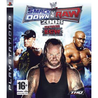 WWE Smackdown vs Raw 2008 [PS3, русская документация]