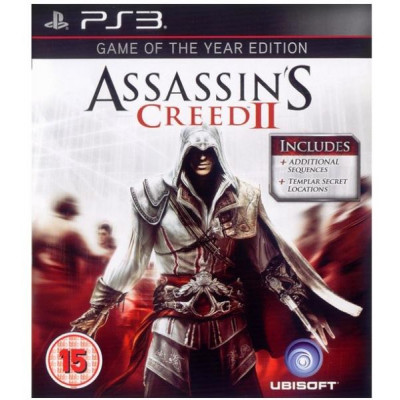 Assassin's Creed II. Game of The Year Edition [PS3, русская версия]