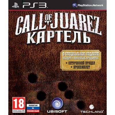 Call of Juarez: Картель. Limited Edition [PS3, русская версия]