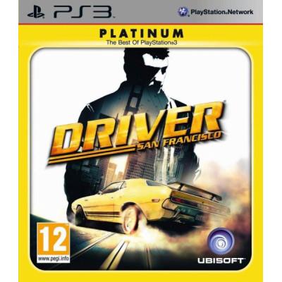 Driver: Сан-Франциско (Platinum) [PS3, русская версия]