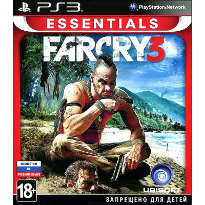 Far Cry 3 (Essentials) [PS3, русская версия]