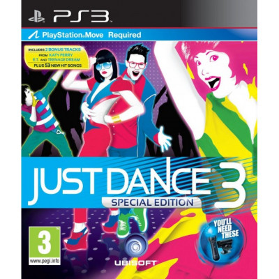 Just Dance 3. Special Edition (только для PS Move) [PS3, английская версия]