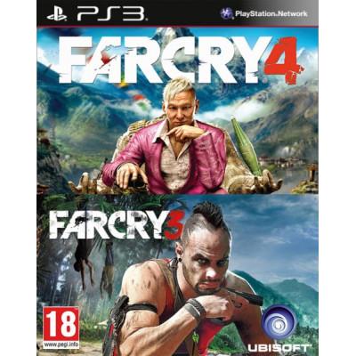 Комплект «Far Cry 3» + «Far Cry 4» [PS3, русские субтитры]