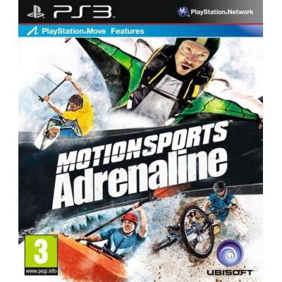 MotionSports: Адреналин (только для PS Move) [PS3, русская обложка]