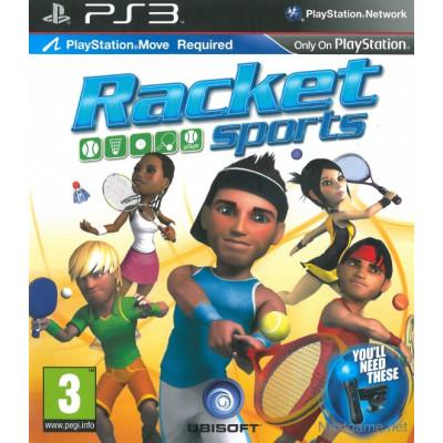 Racket Sports (только для PS Move) [PS3, английская версия]