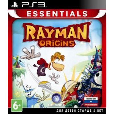 Rayman Origins (Essentials) [PS3, русская версия]