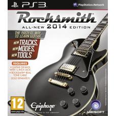 Rocksmith 2014 (Игра + Кабель для подсоединения гитары) [PS3, английская версия]
