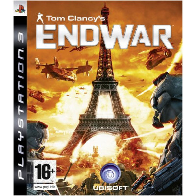 Tom Clancy's EndWar [PS3, русская версия]