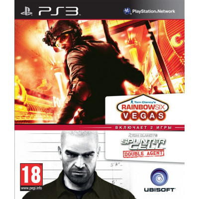 Tom Clancy's Splinter Cell Double Agent & Tom Clancy's Rainbow Six Vegas Double Pack [PS3, русская документация]