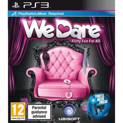 We dare (только для PS Move) [PS3, английская версия]