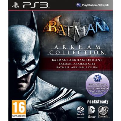 Batman Arkham Collection [PS3, русские субтитры]