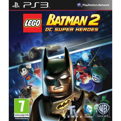LEGO Batman 2: DC Super Heroes [PS3, русские субтитры]