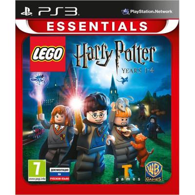 LEGO Harry Potter: Years 1-4 (Essentials) [PS3, русская документация]