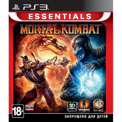 Mortal Kombat (Essentials) (с поддержкой 3D) [PS3, русская документация]