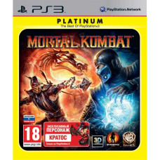 Mortal Kombat (Platinum) [PS3, русская документация]