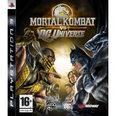 Mortal Kombat Vs DC Universe [PS3, английская версия]