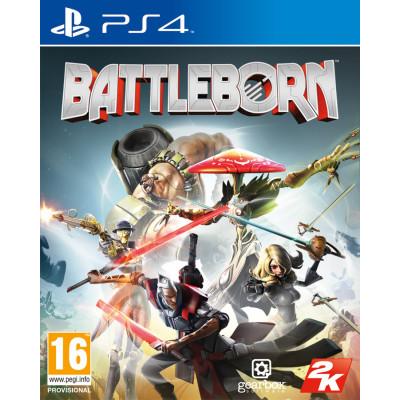Игра для PlayStation 4 Battleborn (русские субтитры)
