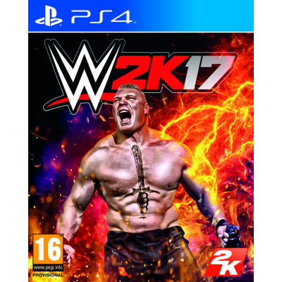 Игра для PlayStation 4 WWE 2K17 (английская версия)