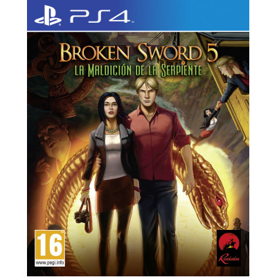Broken Sword 5 the Serpent's Curse [PS4, русские субтитры]