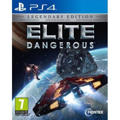Elite Dangerous. Legendary Edition [PS4, русские субтитры]