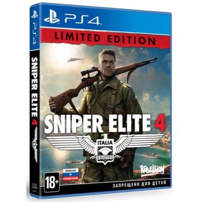 Sniper Elite 4. Limited Edition [PS4, русская версия]